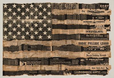 Massimo Vignelli, 'Melting Pot 1976 (United States is the Melting Pot, or Melting Pot of America)', 1989
