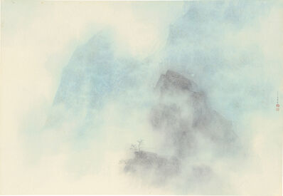 Chung-Ming Su, 'Trees between Clouds 雲間樹', 2017