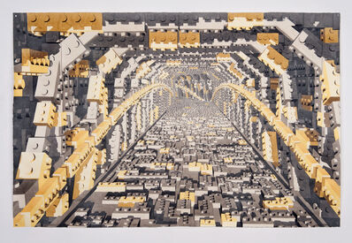 Dagoberto Rodríguez, 'Tunel Lego Gris y Ambar', 2019