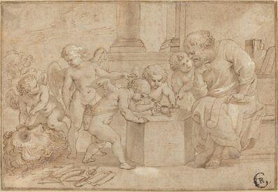 Peter Paul Rubens, 'Elderly Man Watching Putti Dissect an Eye', ca. 1613
