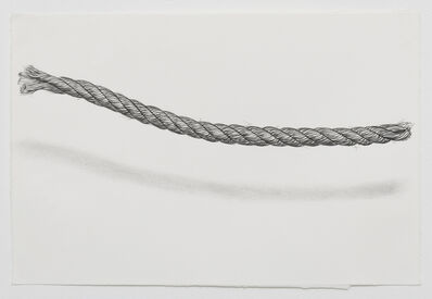 Claudia Parducci, 'Rope Drawing, Day 20', 2019