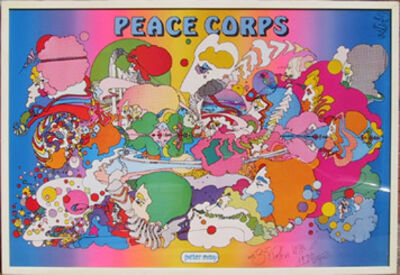 Peter Max, 'Peace Corps', 1970