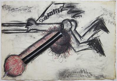 Judith Bernstein, 'Superzipper', 1966
