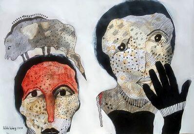 Hilda Hiary, 'Dialogue 4', 2018