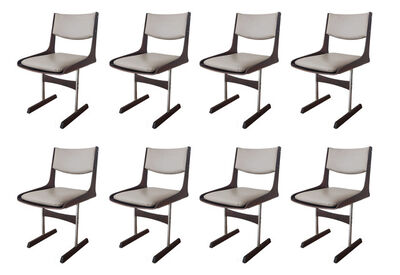Jorge Zalszupin, 'Set of 8 Dining Chairs', ca. 1960