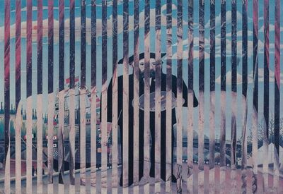 Jiri Kolar, 'Gottes Maler', 1970