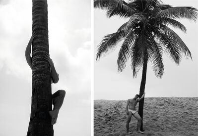 Ricky Cohete, 'Palm Climb One, and Man and Palm Tree, Set from the Nostalgia series', 2017