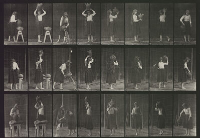Eadweard Muybridge, 'Plate 517. Miscellaneous movements with a water-jar.', 1887