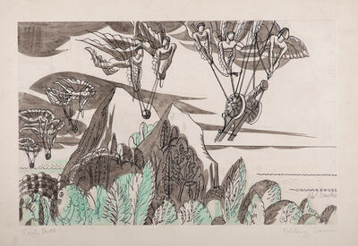 Edward Bawden, 'Fetching Cannons', 1903-1989