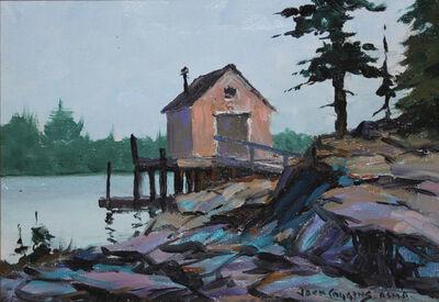 Jack Banham Coggins, 'Old Fish House', 1940-1960