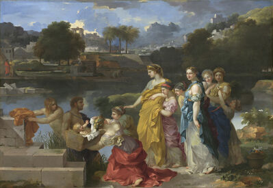Sébastien Bourdon, 'The Finding of Moses', ca. 1655/1660