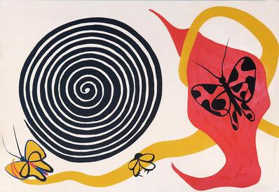 Alexander Calder, 'Butterflies and Spirals', ca. 1975