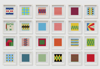 Samson Kambalu, 'Bubblegum Flags', 2018