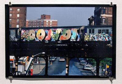 Martha Cooper, 'Dondi Top-to-bottom Whole Car Passing Through South Bronx', 1980