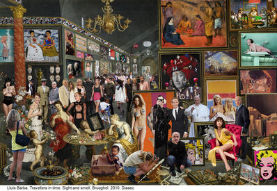 Lluis Barba, 'Travellers in Time, Sight and Smell. (Brueghel & Rubens)', 2010