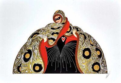 Erté (Romain de Tirtoff), 'Masquerade II ', 1987