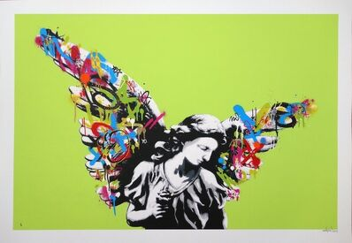 Martin Whatson, 'Angel (Lime edition)', 2013