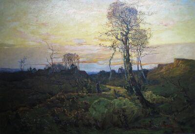 Marc-Aurèle de Foy Suzor-Coté, 'Paysage d'automne ', 1891
