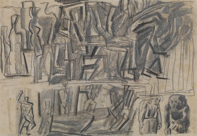 Mario Sironi, 'Composition', ca. 1943