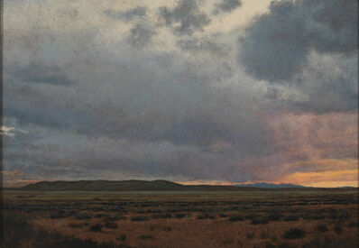 Jeff Aeling, 'Sunset South of Galisteo, NM', 2010