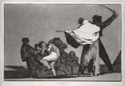 Francisco de Goya, '¡Que Guerrero!', 1877
