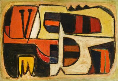 Oswaldo Vigas, 'Objeto Americano', 1955-1956