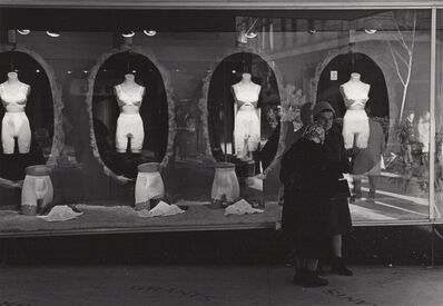 Ed Sievers, 'Untitled (Women in front of underwear store)', c. 1970's