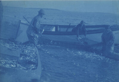 Margaret Watkins, 'Untitled (fishing)', c. 1910's