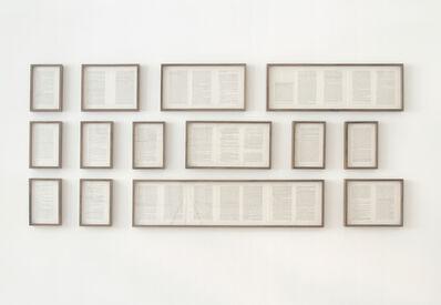 Francisco Ugarte, 'Paisajes literarios (Crimen y Castigo, Fiódor Dostoyevski)', 2015