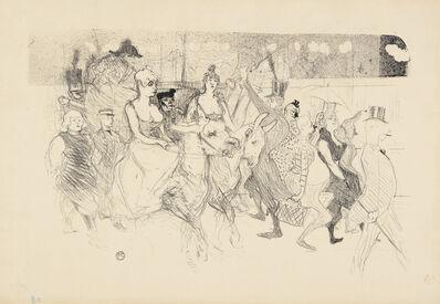 Henri de Toulouse-Lautrec, 'Une redoute au Moulin Rouge (A Gala Evening at the Moulin Rouge)', 1893