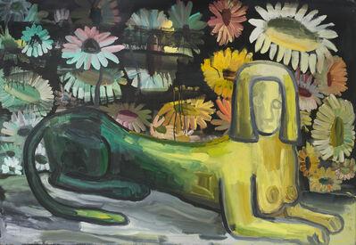 Judith Linhares, 'Sphinx', 1990