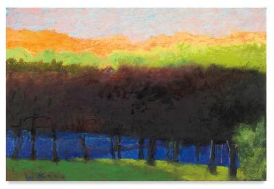 Wolf Kahn, 'Orange Glow', 2011
