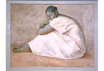Francisco Zúñiga, 'Mujer de Blanco (Woman in White)', 1971