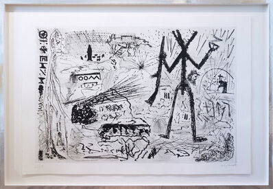 A.R. Penck, 'Expedition to the holy land', 1983