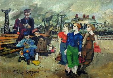 Philip Evergood, 'Railroad Men's Wives', ca. 1933