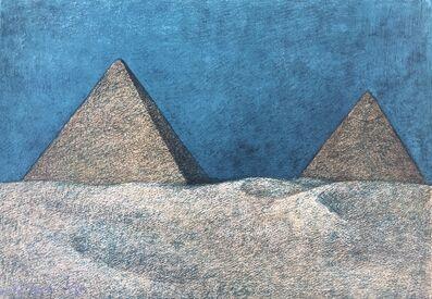 Francisco Zúñiga, 'Impressions of Egipto (Egypt) plate 2', 1982
