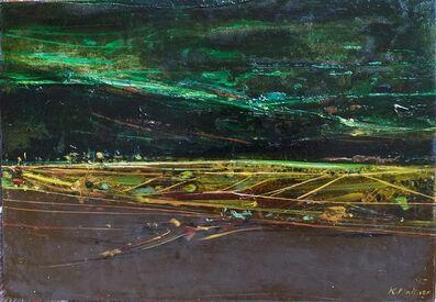 Karl Plattner, 'Vinschgau Landschaft', 1965