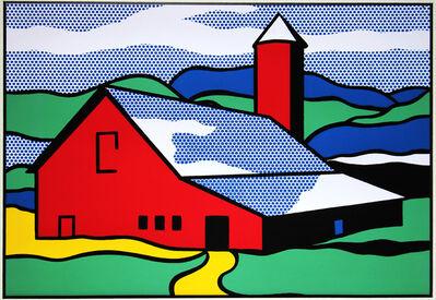 Roy Lichtenstein, 'Red Barn', 1987