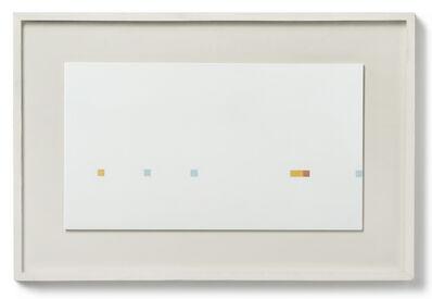 Antonio Calderara, 'Misura di rosso - giallo - azzurro', 1966