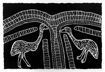 Jimmy Pike, 'Two Karnanganyja - Two Emus'