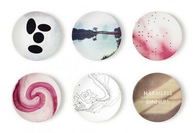 Ed Ruscha, 'Plate Set by Ruscha, Prince, Lin, Heilmann, Gornick, Fernandez', 2012