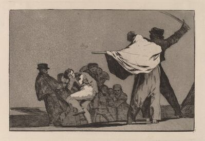 Francisco de Goya, 'Disparate conocido (Well-Known Folly)', 1816