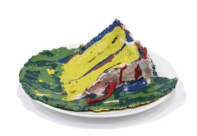 Claes Oldenburg, 'Slice of Birthday Cake'