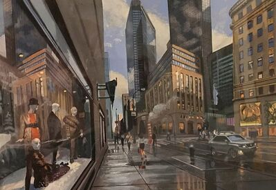 Robert Neffson, 'Study for 57th and 5th Ave', 2012