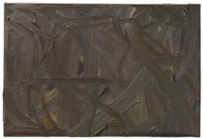 Gerhard Richter, 'Vermalung (braun)', 1972