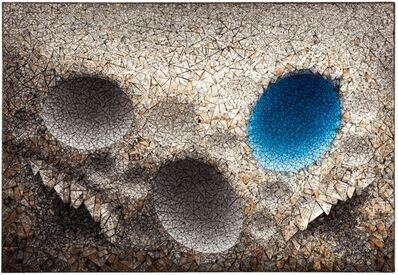 Chun Kwang Young, 'Aggregation 11 - MY035 Blue', 2011