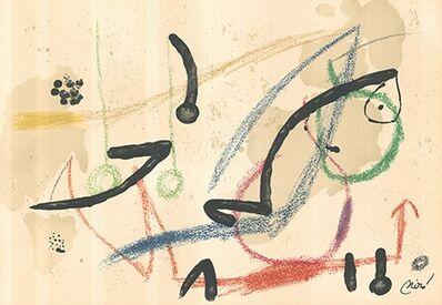Joan Miró, 'Maravillas con variaciones acrósticas - 7', 1975