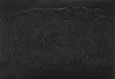 Alberto Burri, 'Cretto Nero A', 1971