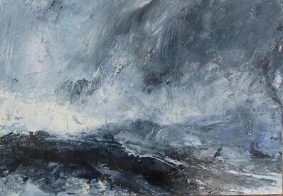 Janette Kerr, 'Rain at Sea, Shetland', 2018
