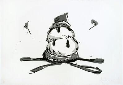 Claes Oldenburg, 'Profiterole (Gray State)', 1990
